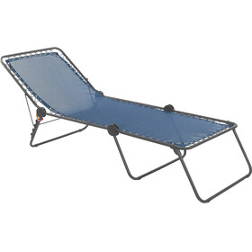 Lafuma Mobilier Siesta L Camping lounger Batyline zwart/turquoise